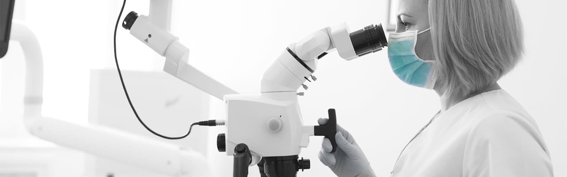 Для чего нужен стоматологический микроскоп? фото